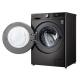 Máquina de Lavar Roupa LG Black INOX