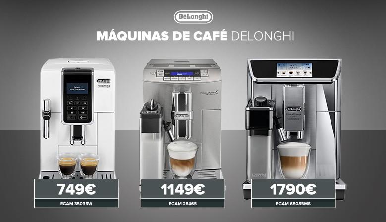 Máquinas de café delonghi